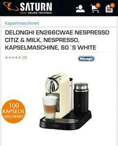 (Lokal - Saturn Bremen Papenstr.) Nespresso Citiz and