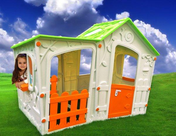 Spielhaus Kinderspielhaus XXL komplett Überdacht bei Amazon für 149,00€