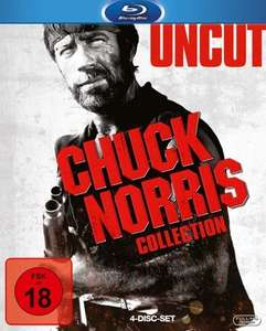 [Media-Dealer] Chuck Norris Collection (Bluray) (Uncut) für 25,98€