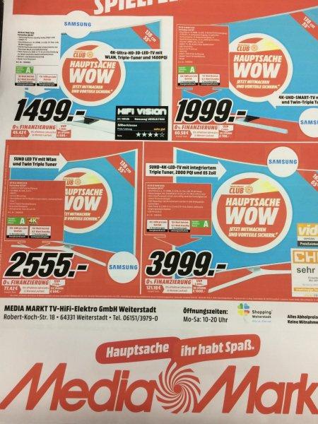 Samsung 55JU7590 Media Markt Weiterstadt