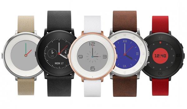 [Amazon.com] Pebble Time Round Smartwatch in 4 Farben (Android & iOS) für 159€