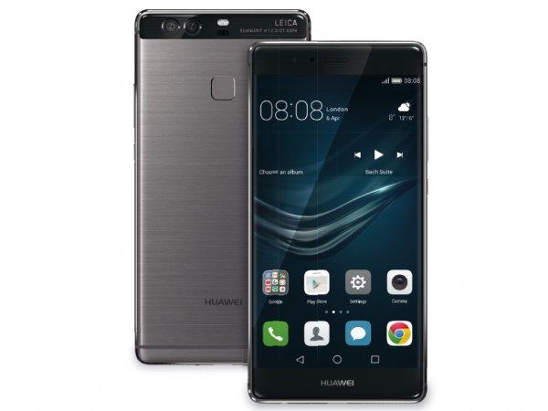 """[CN Import] Huawei P9 - DUAL SIM - alle LTE Bänder - 5.2"""" Display -  3GB / 32GB - Grau/Silber für 492,02€"""