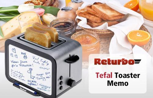 """Tefal Toaster mit Memo-Board und """"Aufknusper-Funktion"""" @QypeDeals"""