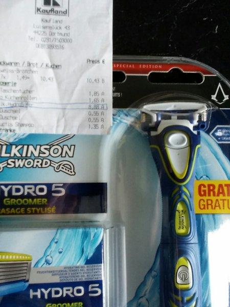[Kaufland] Wilkinson Hydro5 Groomer Rasierer und Trimmer