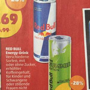 [Penny] Red Bull 0,25L Dose 0,85€