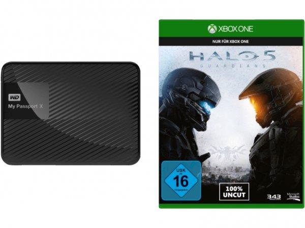 [Mediamarkt Online] WD My Passport® X + Halo 5 - Guardians für 100,99 Euro