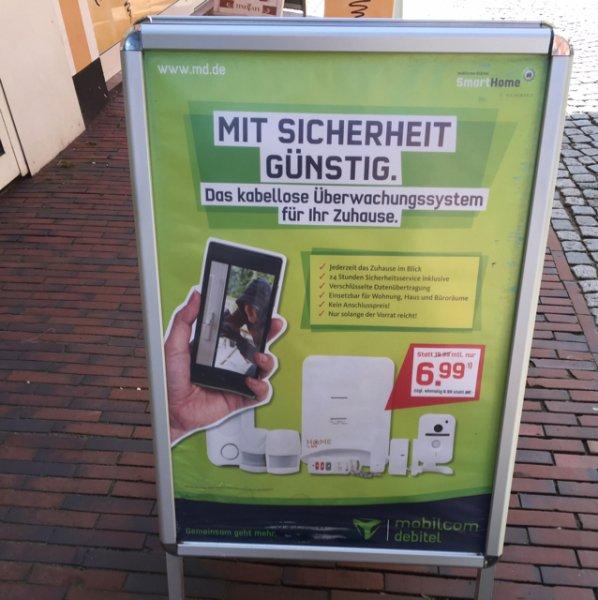 """TOP! mobilcom-debitel Smart Home Paket """"Sicherheit"""" für 6,99 Euro = 70 % billiger!"""