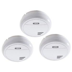 3er Set ABUS RM15 (HSRM11010) Rauchwarnmelder Lithium (10 Jahre)