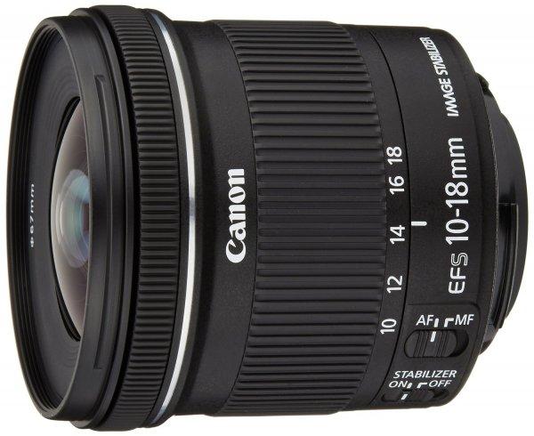 Canon EF-S 10-18mm 1:4,5-5,6 IS STM Objektiv bei AMAZON.IT