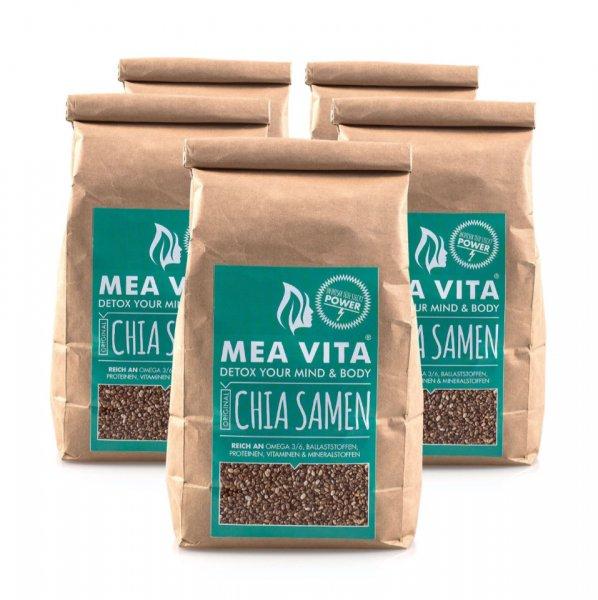 5 Kg Chia Samen zu einem sehr günstigen Preis von 23,98€ inkl Versand über Amazon