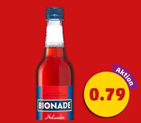 BIONADE Holunder bei Penny für 0,79€ -30% COUPIES = Eff. 0,55€
