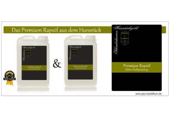 Premium Rapsöl nativ kaltgepresst 6 Liter inkl. VSK 16,90 - [@Dealclub]