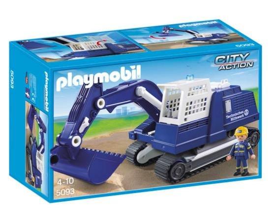 [Galeria Kaufhof] Playmobil THW Bagger 5093 für 21,24€ bei Filialabholung statt ca. 30€