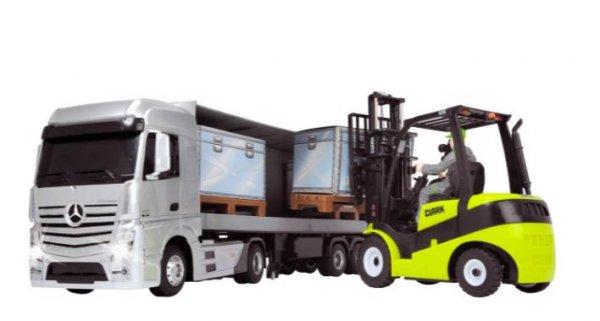[Galeria Kaufhof] RC-Fahrzeug LKW mit Gabelstapler von Dickie für 55,99€ inkl. VSK statt ca. 73€