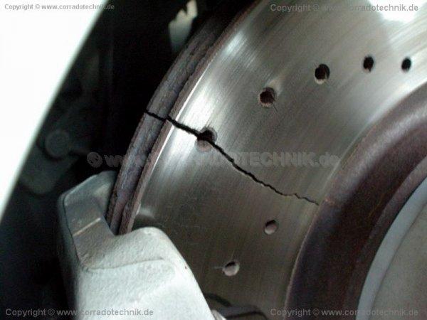 ATE Bremsscheiben für Porsche 997 S vFL