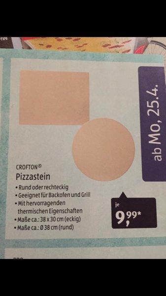 [Aldi-Süd] Crofton Pizzasteine