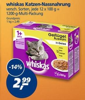 [real] KW17: Whiskas Katzen-Nassnahrung Multipack 1,99€ (-41%)