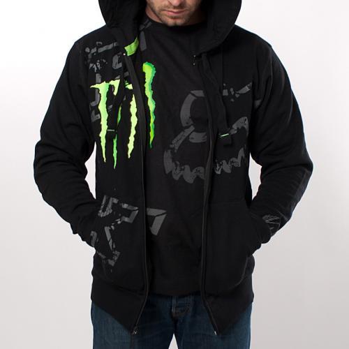"""Fox Hoody für 19€ & T-Shirt für 9€ mit """"Monster Energy"""" Aufdruck @24mx.de"""