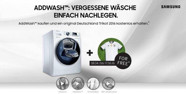 Samsung WW80K5400WW Waschmaschine A+++ [Deutschland-Trikot 2016 on Top] 30% unter idealo