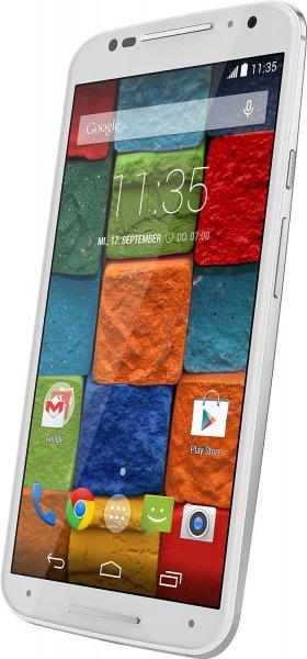 [Amazon] Motorola Moto X LTE 2. Gen (5,2'' FHD Amoled, Snapdragon 801 Quadcore, 2GB RAM, 32GB intern, 13MP + 2MP Kamera, 2300 mAh, Android 5.1 -> Android 6) für 216,06€