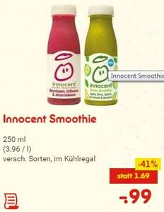 [Netto bundesweit] Innocent Smoothie für 99 Cent