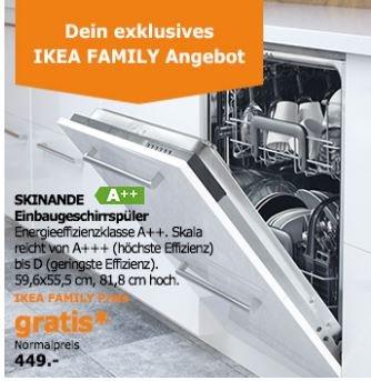 IKEA: Gratis Spülmaschine (anstatt 449€) beim Küchenkauf ab 4000€