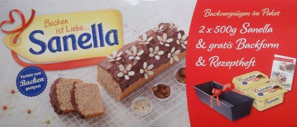 [LOKAL] Kaufland Bamberg 1kg Sanella Margarine plus Backform 0,90 €