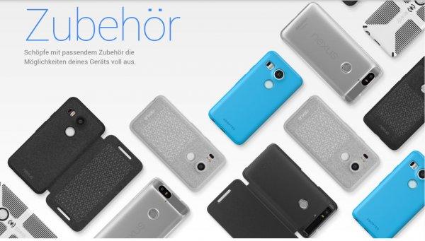 [Google Store] 50% Rabatt auf Nexus 5X Schutzhüllen von ADOPTED und Speck