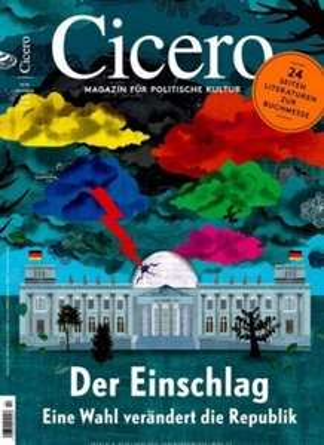 Cicero Magazin im Jahresabo (13 Ausgaben) für 19,95€