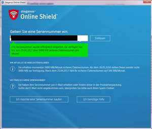 Steganos Online Shield VPN 12 Monate / 3 Geräte kostenlos!