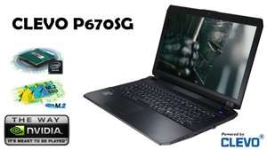17 Zoll Full HD Gaming Laptop CLEVO P670SG GTX 980M 4GB I7 4710HQ 8GB 1285,20€ + The Division