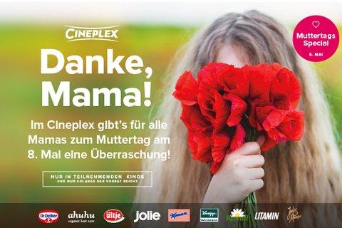 Gratis (Werbe-) Geschenke-Tüte zum Muttertag im Cineplex