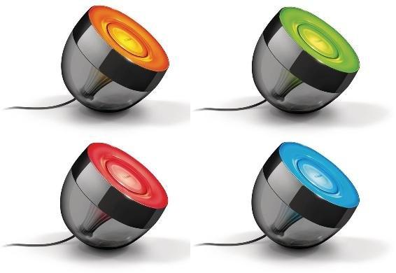 [Update] Philips Living Colors Iris schwarz für 54,49€ inkl. VSK - [@Dealclub]