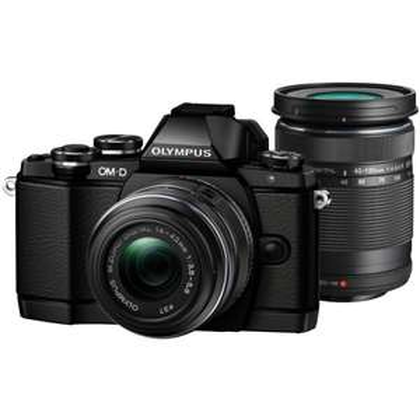 [aus Österreich] Olympus OM-D E-M10 Systemkamera mit 14mm-42mm IIR und 40mm-150mm