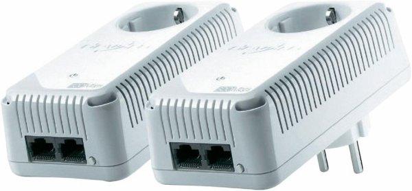 [Voelkner] Devolo Powerline Starter Kit 500 MBit/s dLAN 500 duo+ für 44,44 Euro inkl. Versand