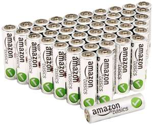 [Amazon Prime] AmazonBasics Performance Batterien Alkali, AA, 48 Stück für 12,29€