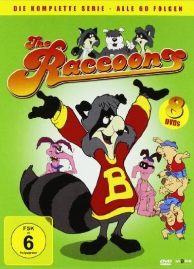[Amazon Prime] The Raccoons - Die komplette Serie - Alle 60 Folgen (8 DVDs), Laufzeit 1500 Minuten für 14,97€ statt ca. 20€ (gebraucht), 28€ (neu)