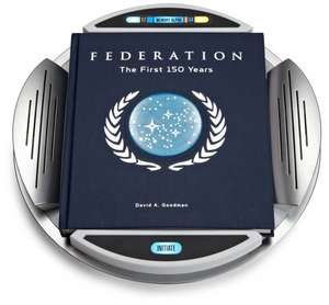 Buch: Star Trek Federation: The First 150 Years @ Amazon für 10,52€