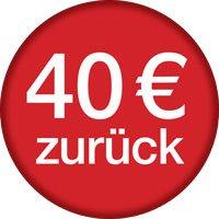 Bis zu 40 Euro Cashback für ausgewählte Rasierer von Braun gültig bis 31.07.