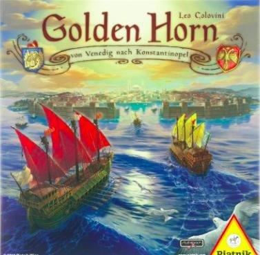 [Amazon Prime] Piatnik 6318 - Golden Horn, Strategiespiel für 10,08€ statt ca. 20€