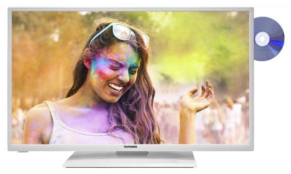 Blitzangebot:Telefunken XF32A200D-W 81 cm (32 Zoll) Fernseher (Full HD, Triple Tuner, Smart TV, DVD-Player) weiß @259,99 Euro