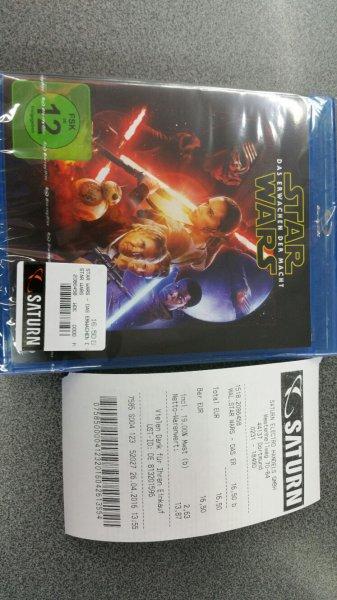 Saturn Dortmud, Star Wars - Erwachen der Macht, Bluray für 16.50€