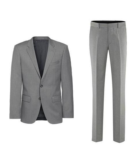 """[Engelhorn] Tommy Hilfiger Anzug in Grau und vielen Größen """"Butch Rhames"""" für 274,80€ statt 359,95€"""