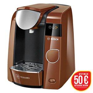 Tassimo, Heißgetränkeautomat Tassimo Joy TAS4501 bei real.de für 44,95€ + 2x25€ Tassimo-Gutschein