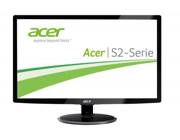 [Amazon] Acer S242HLCBID 60,1 cm (24 Zoll) Monitor (VGA, HDMI, 2ms Reaktionszeit) schwarz für 111€