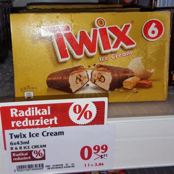 [GLOBUS MAINTAL] Eiszeit: TWIX Ice Cream 6x43ml für 0,99€ // Magnum Alle Sorten für 1,79€ // Milka Cashew&Caramel 480ml für 1,99€ // Häagen Dasz Selection 4x100ml für 2,99€