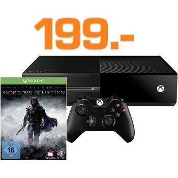 [Saturn Berlin Clou] Xbox One (500GB) refurbished + Mordors Schatten für 199€