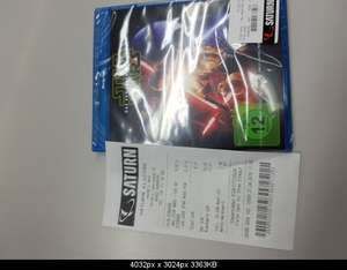 Star Wars 7 Blu Ray 9 Euro / DVD 9,99 [Saturn Nürnberg]
