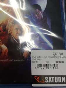 (Lokal) Saturn Fürth - Force Awakens Bluray 9 Euro!