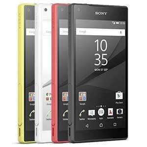 Sony Xperia Z5 Compact (alle Farben) für 359,90 € - 4,6'' | 1280 × 720 px | Snapdragon 810 | 2 GB RAM | 32 GB Flash (erweiterbar) | Android 5.1 | 2.700 mAh Akku | QuickCharge [price-guard@eBay]